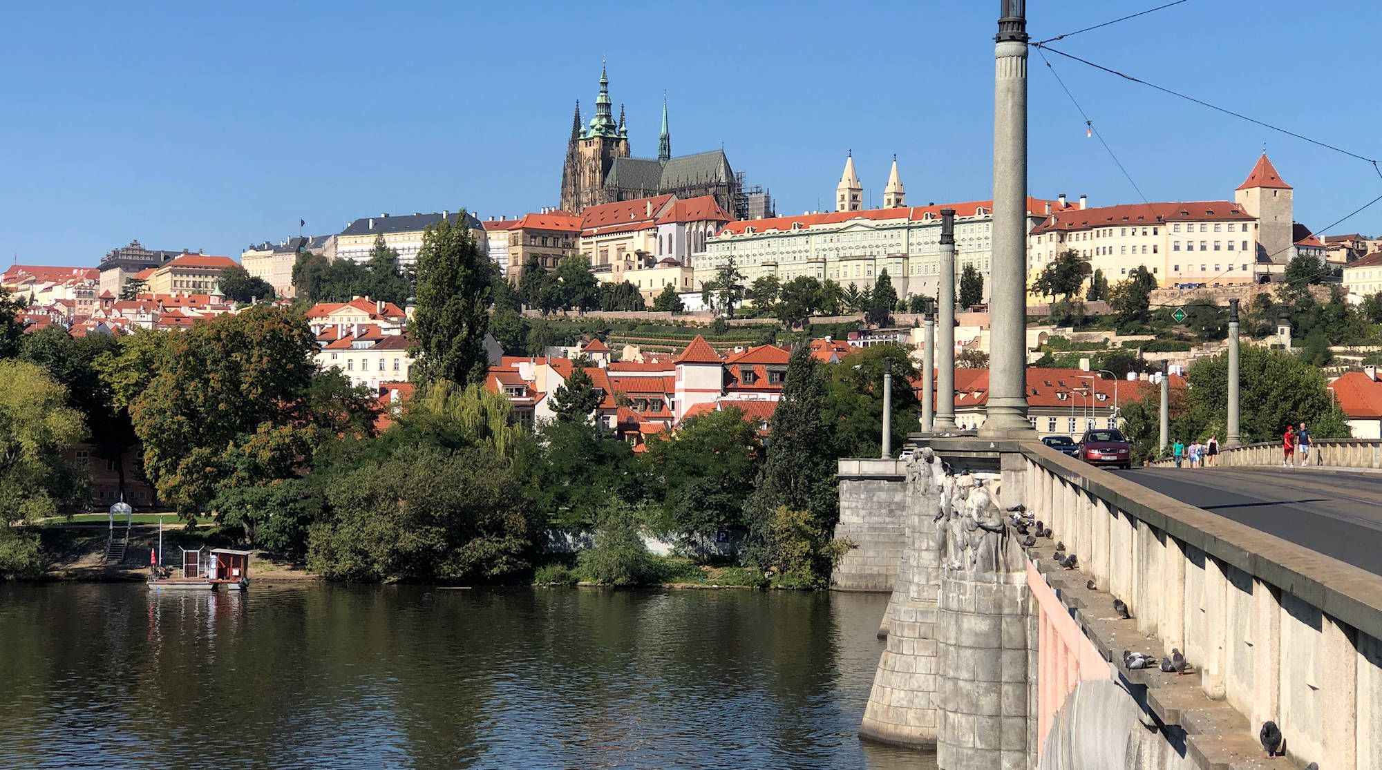 Indian Summer in Prague 2020