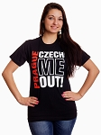Prague Czech Me Out! T-shirt