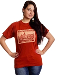 Prague Charles Bridge & Tower Legacy Stamp T-shirt