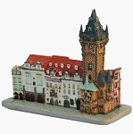Prague Old Town Hall miniature