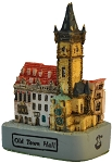 Prague Old Town Hall small ceramic model