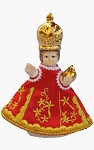 Infant Jesus of Prague genuine small 8cm figure