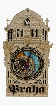 Prague Astronomical Clock wooden replica - half tower