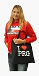 I Love PRG canvas bag