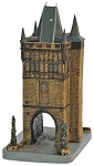 Prague Charles Bridge Tower small ceramic model