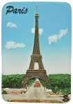 Paris Eiffel Tower ceramic magnet