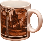 Prague Main 4 Motives coffee mug