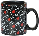 I Love Prague small coffee mug