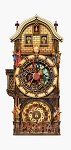 Prague Astronomical Clock small painted replica