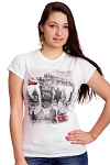 Prague Main Sights Ladies T-shirt