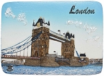 London Tower Bridge ceramic magnet