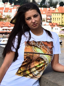 Prague Clock & Tower T-shirt