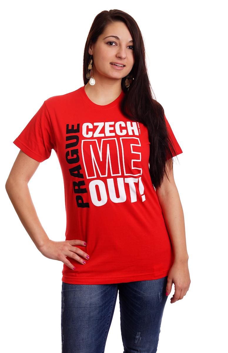 Prague Czech Me Out T Shirt