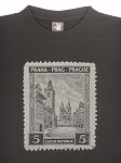Prague Old Town Square & Tyn Legacy Stamp T-shirt