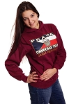 Praha Drinking Team sweatshirt with hood