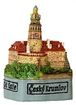 Cesky Krumlov Old Castle small ceramic model