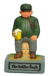 Good Soldier Schweik small ceramic figure
