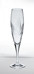 Bohemia Crystal Champagne Glass Orchidea