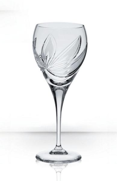 Bohemia Crystal Wine Glass Orchidea