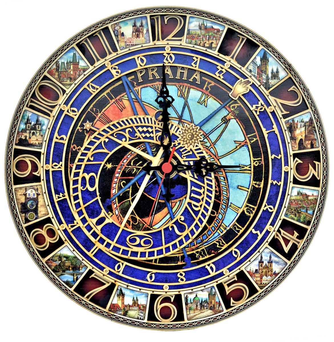 Prague Astronomical Clock In Prague Stock Photo - Download
