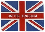 United Kingdom Flag ceramic magnet