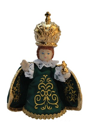Infant Jesus of Prague porcellain 10-12cm figure