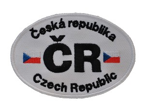 Patch Czech Republic Ellipse