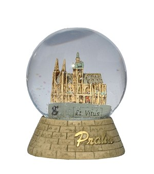 Prague St. Vitus Cathedral Water Ball