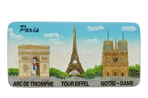 Paris Main Motives ceramic magnet