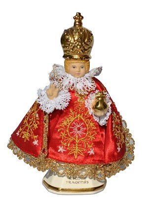 Genuine figure of Infant Jesus of Prague 16cm