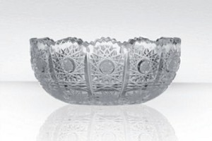 Bohemia Crystal Glass Small Saucer Tradition