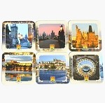 Prague Sights Beer Mats