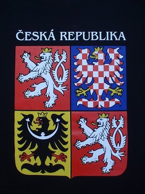 Czech Republic State Sign T-shirt
