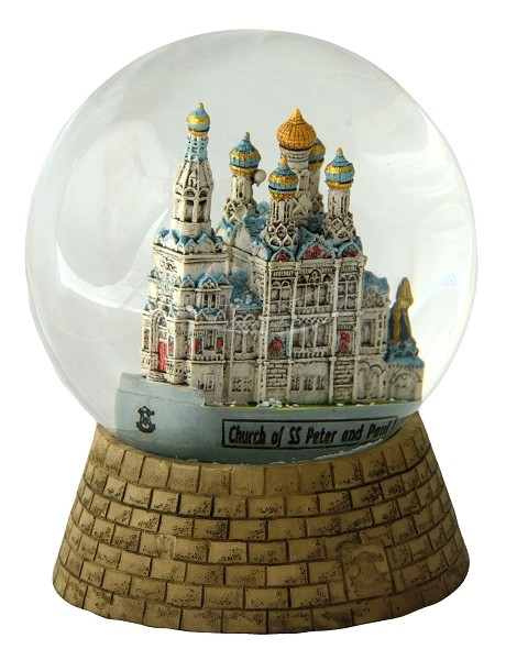 Carlsbad Russian Church snow globe