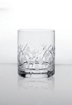 Bohemia Crystal Whisky Glass Nostalgia