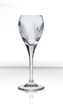 Bohemia Crystal Liquor Glass Orchidea