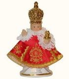 Genuine figure of Infant Jesus of Prague 13cm