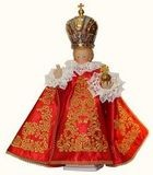 Infant Jesus of Prague genuine real-size figure